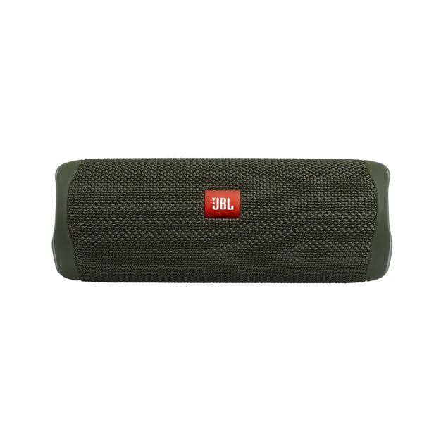 JBL FLIP 5 - Green - Portable Waterproof Speaker - Front