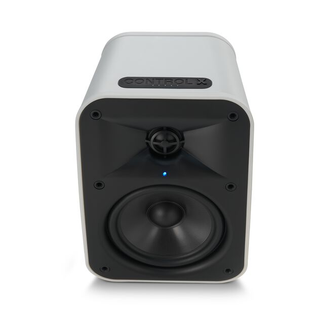 """JBL Control X Wireless - White - 5.25"""" (133mm) Portable Stereo Bluetooth® Speakers - Detailshot 3"""