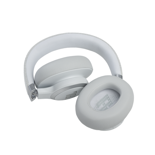 JBL Live 660NC - White - WIRELESS OVER-EAR NC HEADPHONES - Detailshot 5