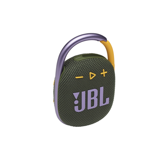 JBL CLIP 4 - Green - Ultra-portable Waterproof Speaker - Hero