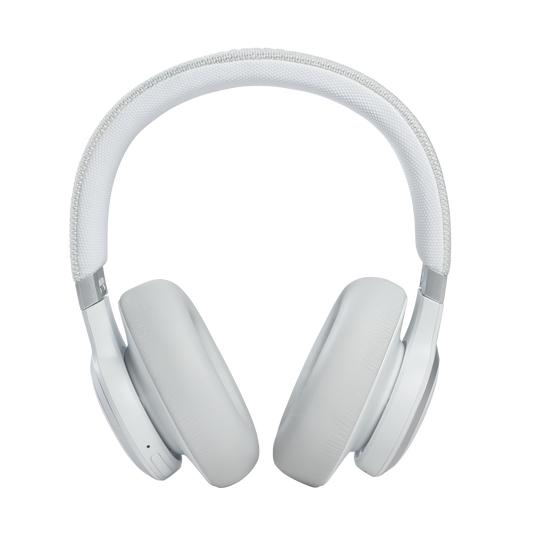 JBL Live 660NC - White - WIRELESS OVER-EAR NC HEADPHONES - Front