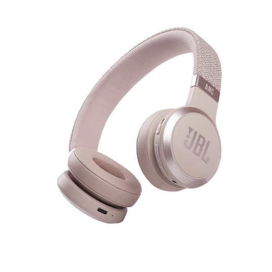 JBL Live 460NC - Rose - WIRELESS ON-EAR NC HEADPHONES - Hero