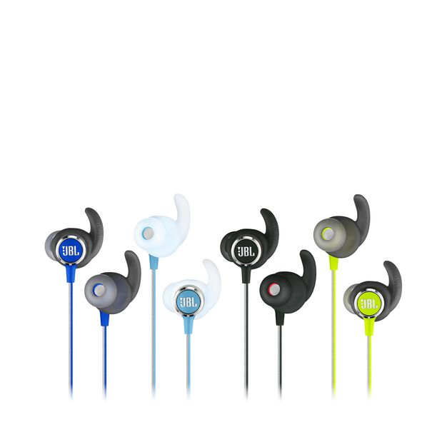 JBL REFLECT MINI 2 - Green - Lightweight Wireless Sport Headphones - Detailshot 3