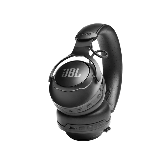 JBL CLUB 700BT - Black - Wireless on-ear headphones - Detailshot 1