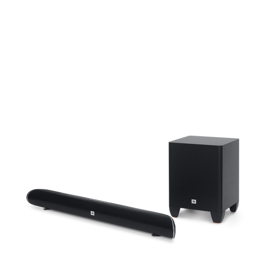 Cinema SB250 - Black - Wireless Bluetooth Home Speaker System - Hero
