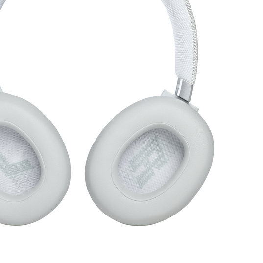 JBL Live 660NC - White - WIRELESS OVER-EAR NC HEADPHONES - Detailshot 3