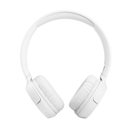 JBL Tune 510BT - White - Wireless on-ear headphones - Front