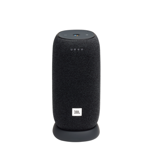 JBL Link Portable - Black - Portable Wi-Fi Speaker - Hero