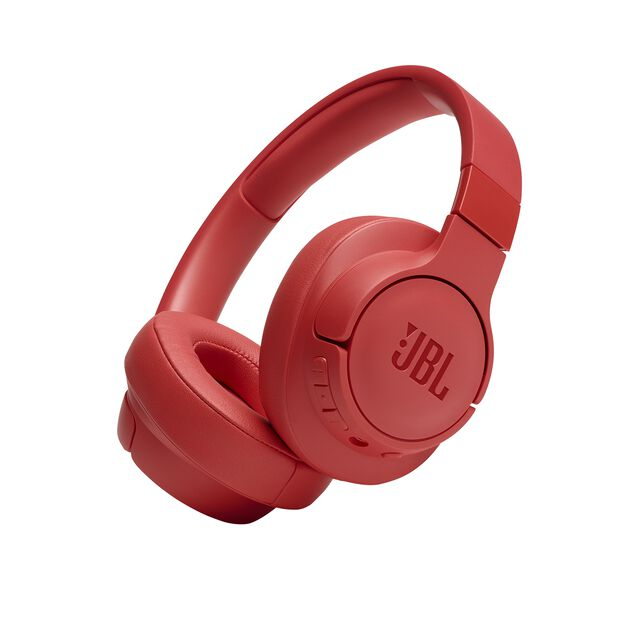 JBL TUNE 700BT - Coral Orange - Wireless Over-Ear Headphones - Hero