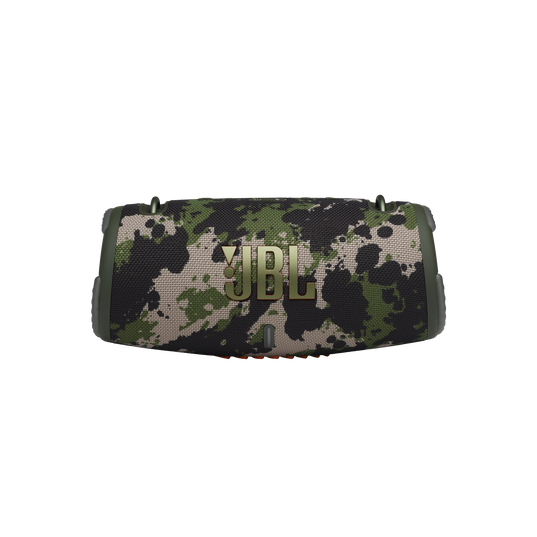 JBL Xtreme 3 - Black Camo - Portable waterproof speaker - Front