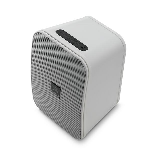 """JBL Control X Wireless - White - 5.25"""" (133mm) Portable Stereo Bluetooth® Speakers - Detailshot 9"""