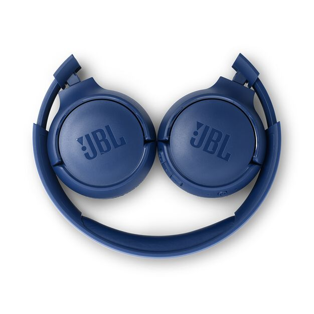 JBL TUNE 560BT - Blue - Wireless on-ear headphones - Detailshot 2