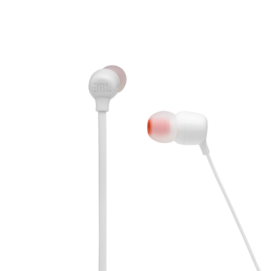 JBL TUNE 125BT - White - Wireless in-ear headphones - Detailshot 2