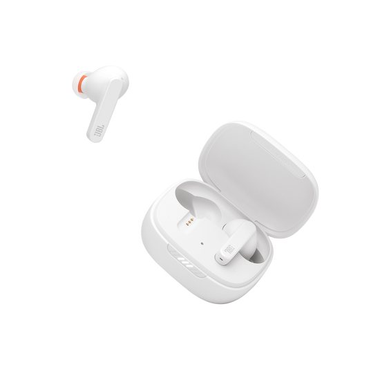 Live Pro+ TWS - White - True Wireless In-Ear NC Headphones - Detailshot 2