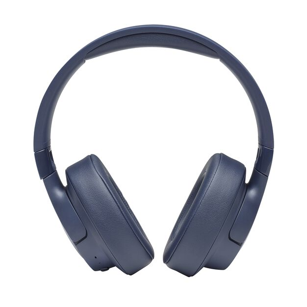 JBL TUNE 700BT - Blue - Wireless Over-Ear Headphones - Front