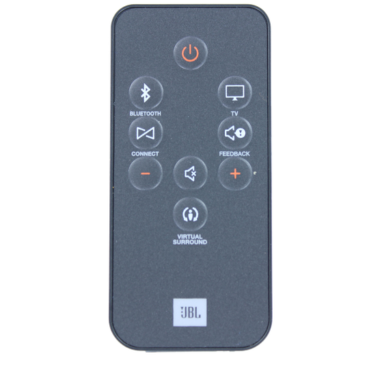JBL Remote control for Boost TV - Black - Remote control - Hero
