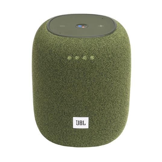 JBL Link Music - Green - Wi-Fi speaker - Hero