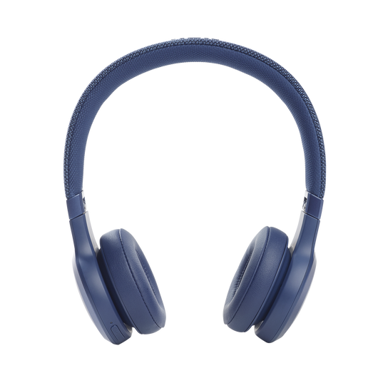 JBL Live 460NC - Blue - WIRELESS ON-EAR NC HEADPHONES - Front
