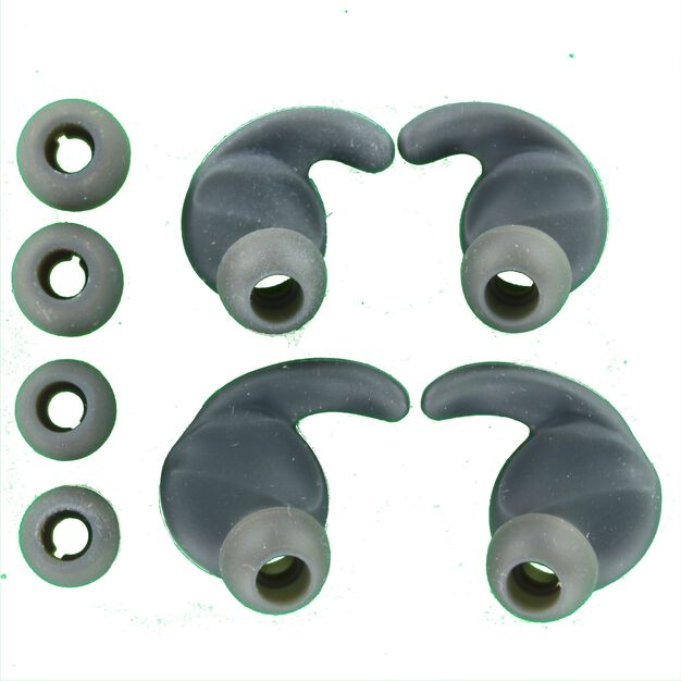 Ergonomic ear tips + ear tips (L+R), Small and Medium, JBL Reflect