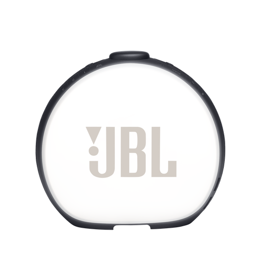 JBL Horizon 2 DAB - Black - Bluetooth clock radio speaker with DAB/DAB+/FM - Back