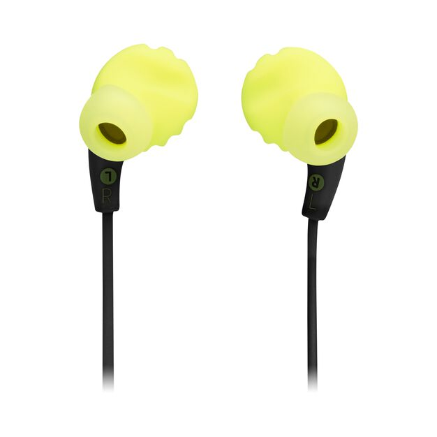 JBL Endurance RUNBT - Green - Sweatproof Wireless In-Ear Sport Headphones - Back