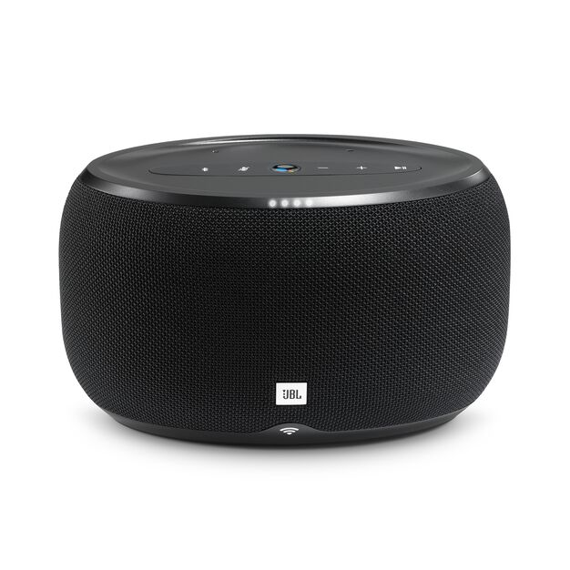 JBL Link 300 - Black - Voice-activated speaker - Front