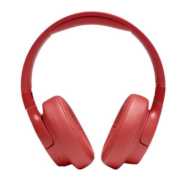 JBL TUNE 700BT - Coral Orange - Wireless Over-Ear Headphones - Front