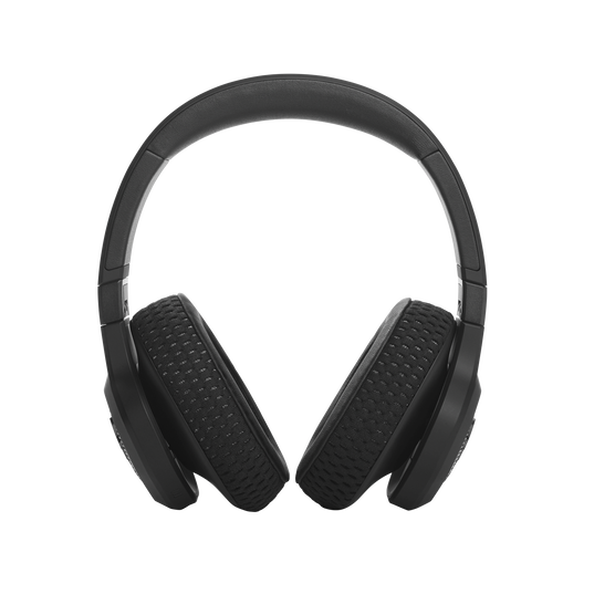 UA Project Rock Over-Ear Training Headphones - Engineered by JBL - Black - Over-Ear ANC Sport Headphones - Front
