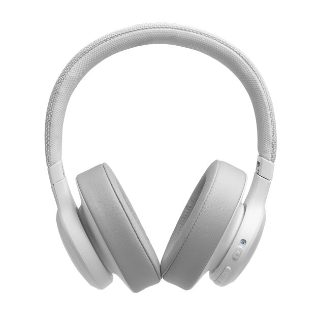 JBL LIVE 500BT - White - Your Sound, Unplugged - Front