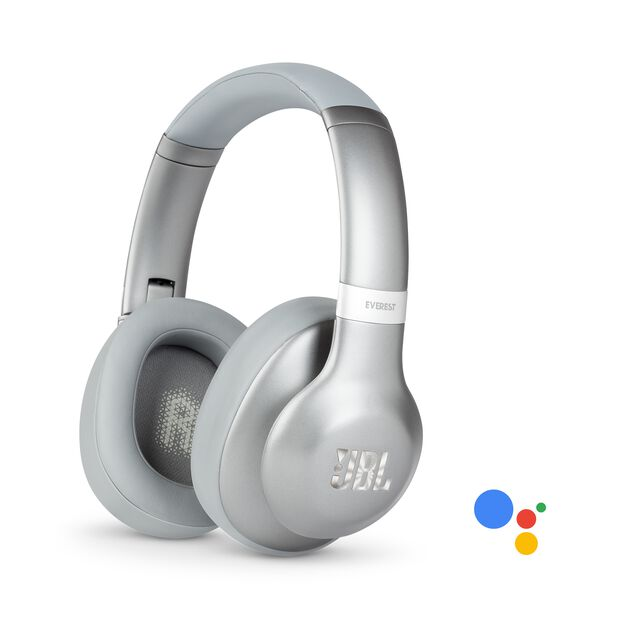 JBL EVEREST™ 710GA - Silver - Wireless over-ear headphones - Hero