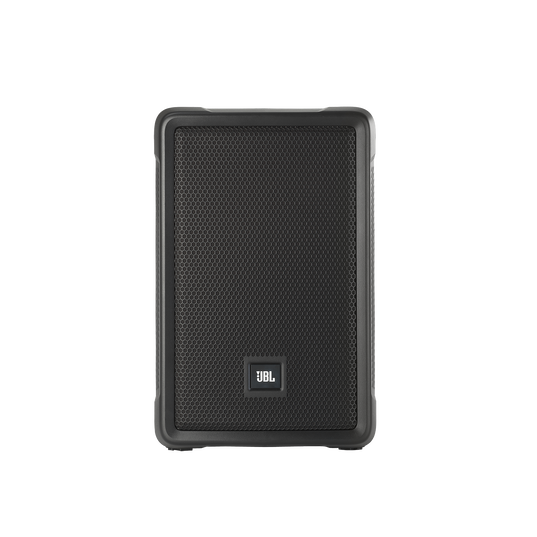 "JBL IRX108BT - Black - Powered 8"" Portable Speaker with Bluetooth® - Front"