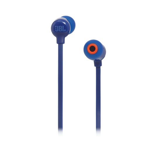 JBL TUNE 160BT - Blue - Wireless in-ear headphones - Front