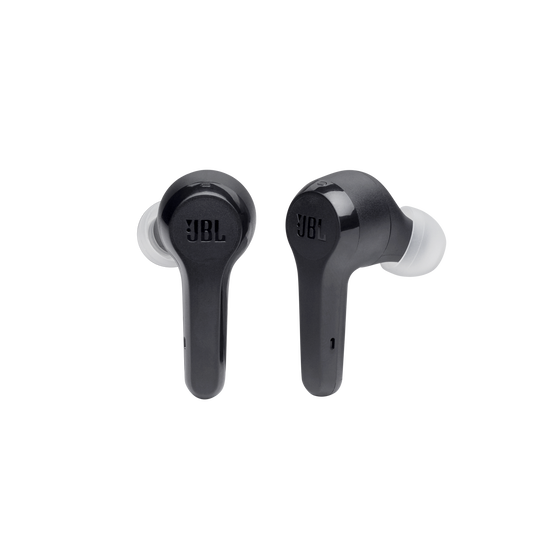 JBL Tune 215TWS - Black - True wireless earbud headphones - Front