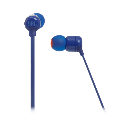 JBL TUNE 110BT - Blue - Wireless in-ear headphones - Detailshot 3