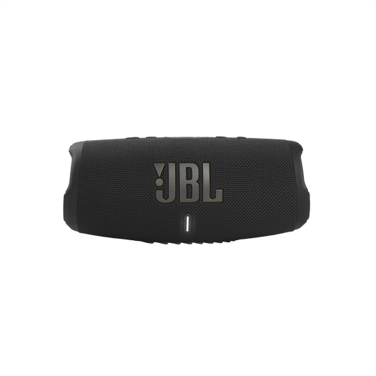 JBL Charge 5 Tomorrowland Edition - Black - Portable Waterproof Speaker with Powerbank - Front