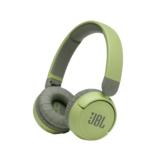 JBL Jr310BT - Green - Kids Wireless on-ear headphones - Hero