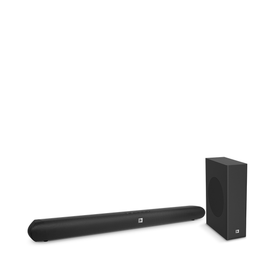 Cinema SB150 - Black - Home cinema 2.1 soundbar with compact wireless subwoofer - Hero