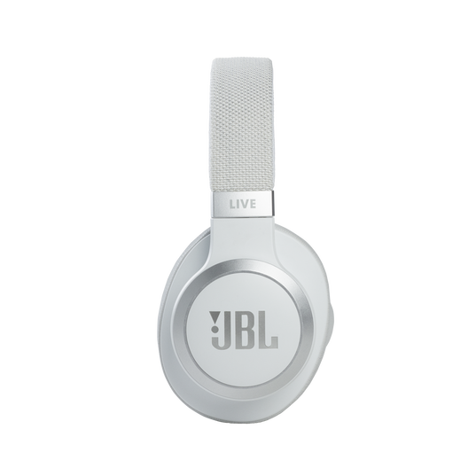 JBL Live 660NC - White - WIRELESS OVER-EAR NC HEADPHONES - Detailshot 1