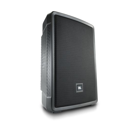 "JBL IRX112BT - Black - Powered 12"" Portable Speaker with Bluetooth® - Hero"