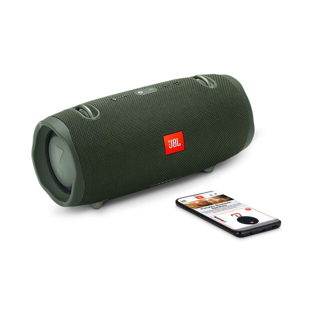 JBL Xtreme 2 - Forest Green - Portable Bluetooth Speaker - Detailshot 1