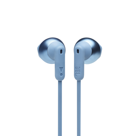 JBL TUNE 215BT - Blue - Wireless Earbud headphones - Front