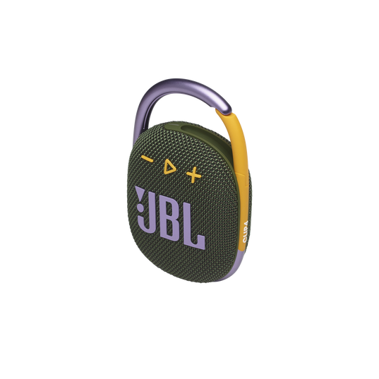 JBL CLIP 4 - Green - Ultra-portable Waterproof Speaker - Detailshot 2