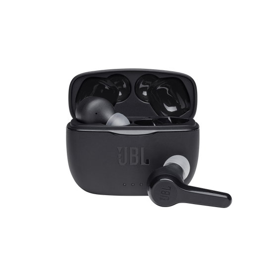 JBL Tune 215TWS - Black - True wireless earbud headphones - Hero