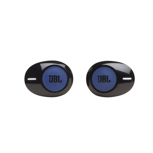 JBL TUNE 120TWS - Blue - Truly wireless in-ear headphones. - Front