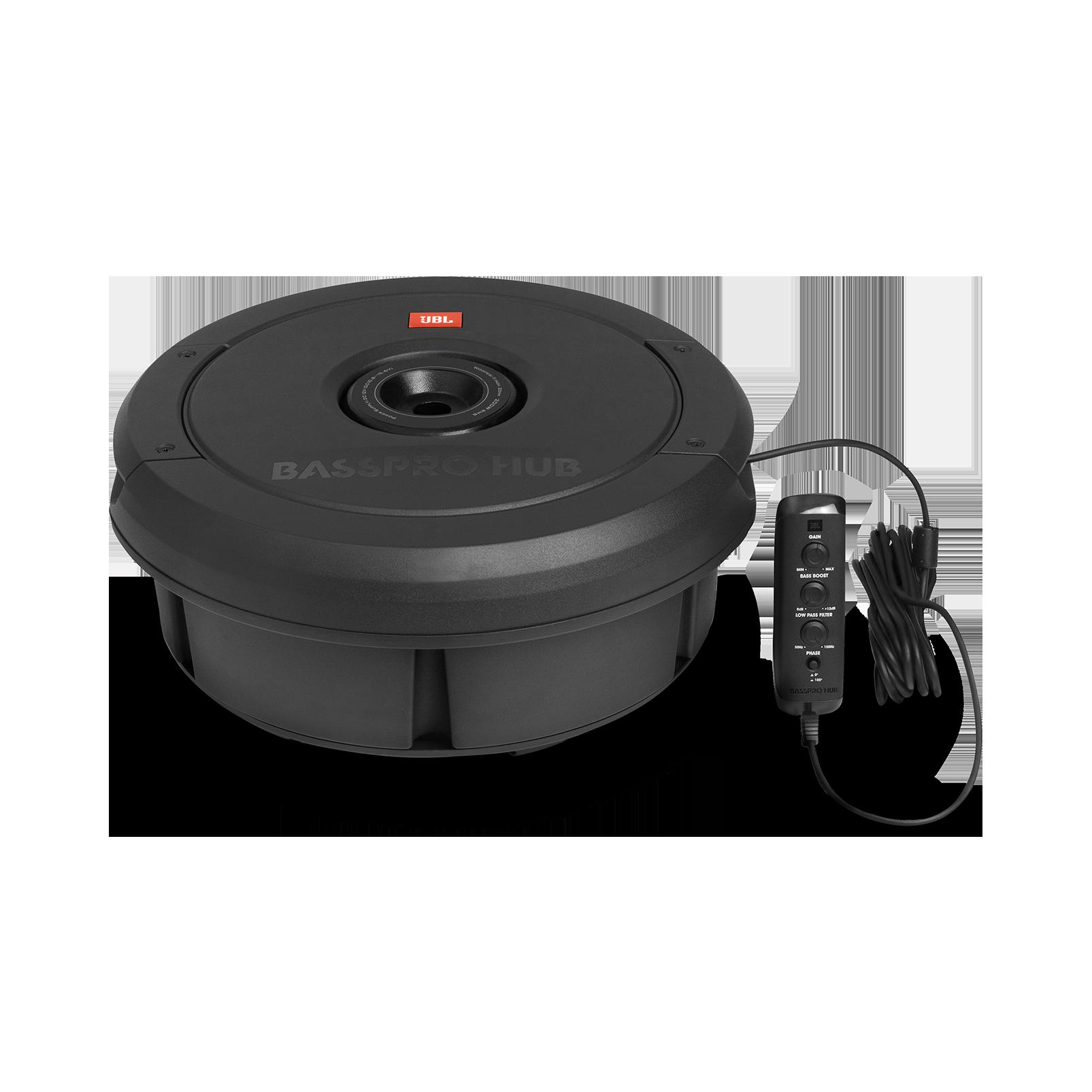 jbl basspro hub 11 39 39 279 mm subwoofer mit integriertem. Black Bedroom Furniture Sets. Home Design Ideas